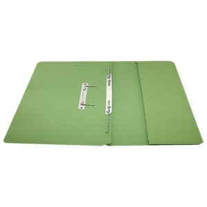 Rexel Jiffex Pocket Transfer File Foolscap Green(Pack of 25) 43314EAST