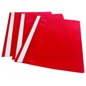 Esselte Report File A4 Red (Pack of 25) 28316