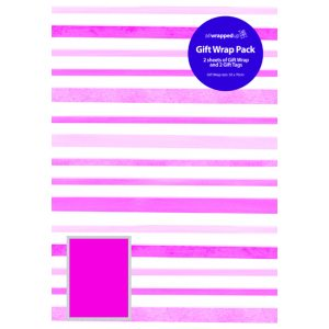 Modern Stripes Giftwrap (Pack of 12)