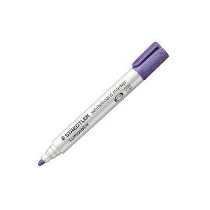 Staedtler Lumocolor 351 Drywipe Marker Purple (Pack of 10) 351-6