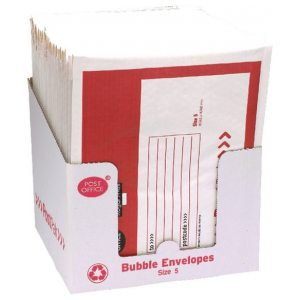 Post Office Size 5 Bubble Envelope 245mm x 381mm Pack of 22