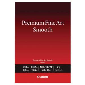 CANON PREMIUM FINEART SMOOTH A3+ P25