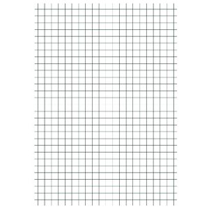 A4 EXERCISE PAPER 5MM SQ 500 SHEETS PK5