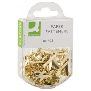 Q CONNECT PAPER FASTENER 17MM PK80
