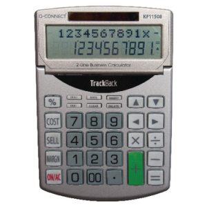 Q-CONNECT 12 DIGIT CALCULATOR