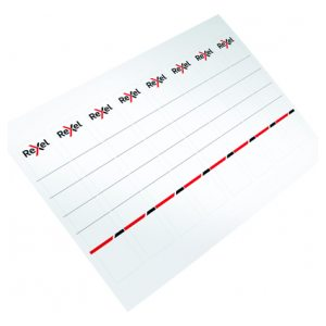 REXEL PRINTABLE CARD SPINE LABEL 80PK