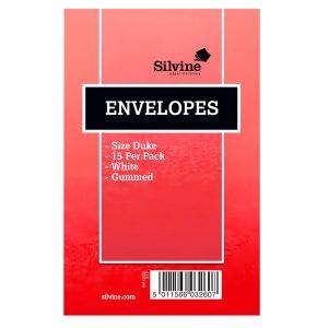 SILVINE DUKE ENVELOPES 16 PK36