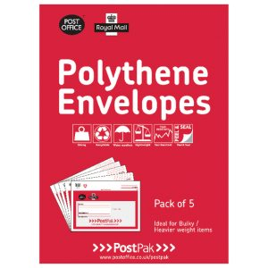 POLY BUBBLE MAILER SIZE 5 PK5