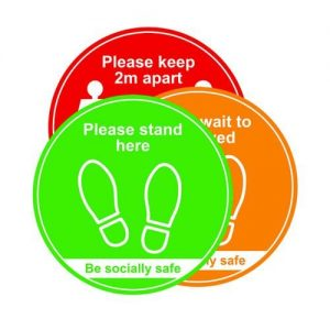 400MM FLOOR SIGN TRAFFIC LIGHT PK3