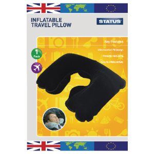 TRAVEL INFLATABLE PILLOW 10PK
