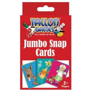 JUMBO SNAP PLAYING CARDS PACK OF 36