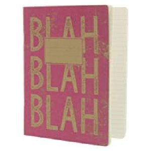 KRAFT TYPO PINK EXERCISE BOOK