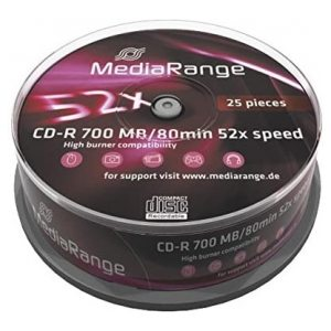 MY BRAND CD-R SPINDLE OF 25