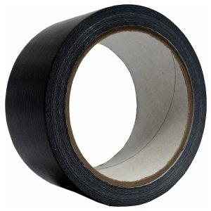 DUCT TAPE 48MM X25M BLACK 6 PACK