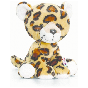 KEEL TOYS PIPPINS LEOPARD 140MM