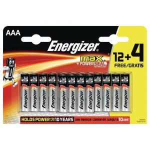 **BULK DEAL** 70x 12+4 AAA ENERGIZER MAX
