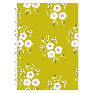 TULIP GARDEN CLUSTER A4 NOTEBOOK LIME
