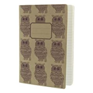 WOODLAND KRAFT OWL EXERCISE BOOK