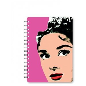 ART ICONS A5 NOTEBOOK AUDREY PK3