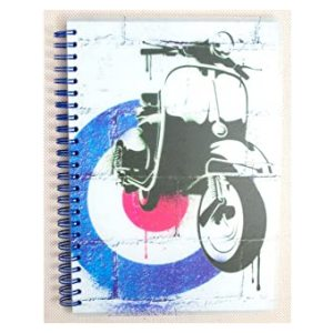 ART ICONS A5 NOTEBOOK SCOOTER
