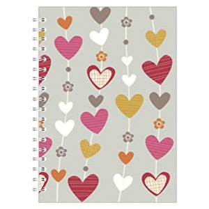 HEART STRINGS A5 NOTEBOOK