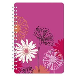 SKETCHED FLORAL A5 NOTEBOOK GERBERA