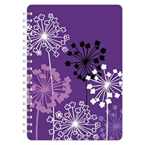 SKETCHED FLORAL A5 NOTEBOOK ALLIUM