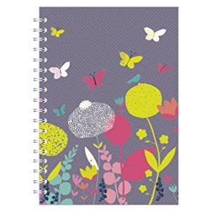 NEON BLOOM A5 NOTEBOOK PINK