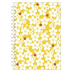 BUTTEFLY DAISY A5 NOTEBOOK YELLOW