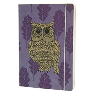 WOODLAND KRAFT OWL A5 NOTEBOOK