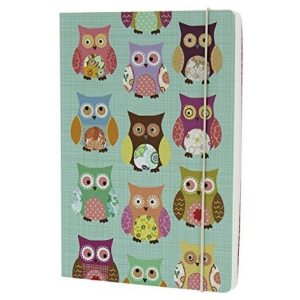 OWLS TEAL A5 NOTEBOOK