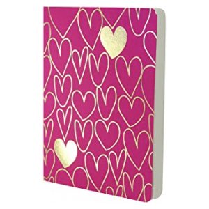 HEARTS A6 NOTEBOOK
