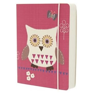 OWLS PINK A6 NOTEBOOK