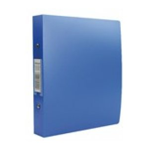 REXEL A5 2 RING BINDER BLUE