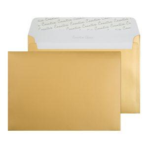 C5 WALLET P/S ENV 120GSM GOLD P250