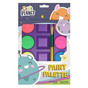PAINT PALETTE 10 PACKS OF 6 PAINTS PER PACK