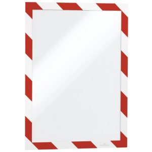 DURABLE DURAFRAME A4 RED/WHITE PK2