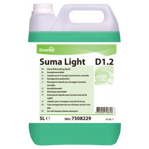 DIVERSEY SUMA LIGHT D1.2 DISHWASH 5L PK2