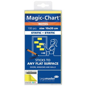 LEGAMASTER MAGIC CHART NOTES YLW
