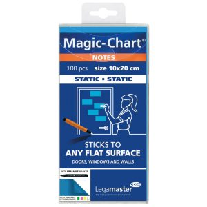 LEGAMASTER MAGIC CHART NOTES BLUE