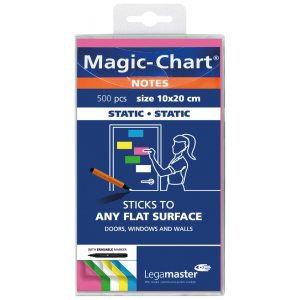 LEGAMASTER MAGIC NOTES ASSORTED PK500