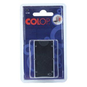 E/40 REPLACEMENT COLOP PADS BLACK PK2