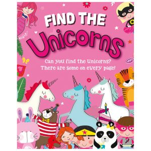 FIND THE UNICORN BOOK  12PK