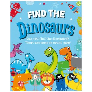 FIND THE DINOSAUR BOOK  12PK