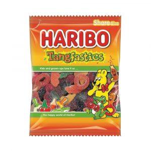 HARIBO TANGFASTICS 140G BAG PK12