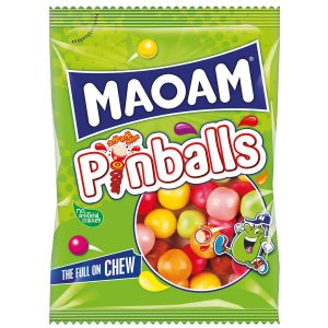 MAOAM PINBALLS SHARE BAG 140G PK12