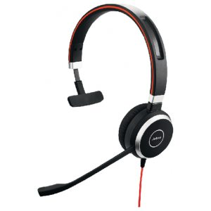 Jabra Evolve 40 Mono UC USB 3.5mm Jack Headset