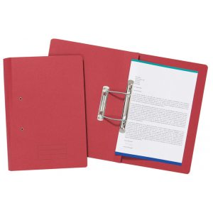 SPIRAL FILES FOOLSCAP RED PK50