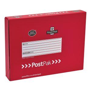 POSTPAK BOX D 450X350X80