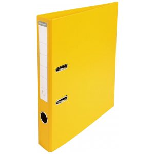 MONOCHROME YELLOW A4 RINGBINDER